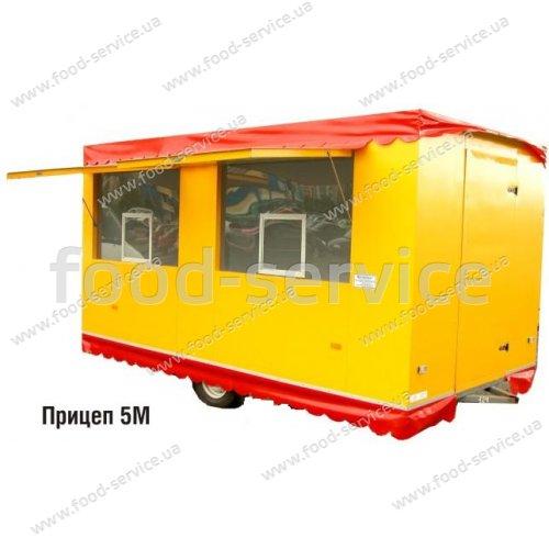 Прицеп торговый 4х2м ПТ-014