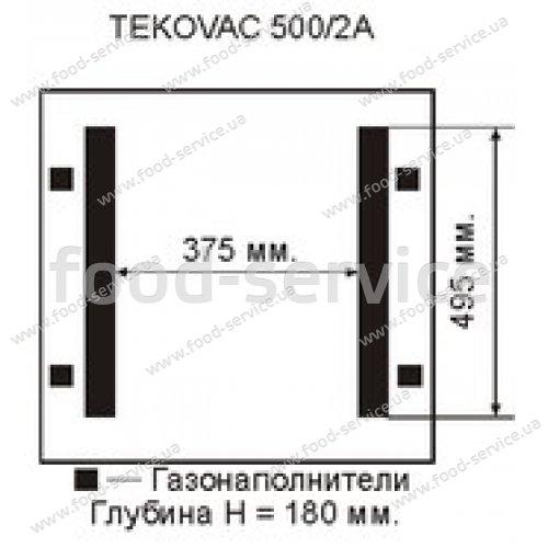 Вакуумная машина DZQ-500 T параллельная запайка