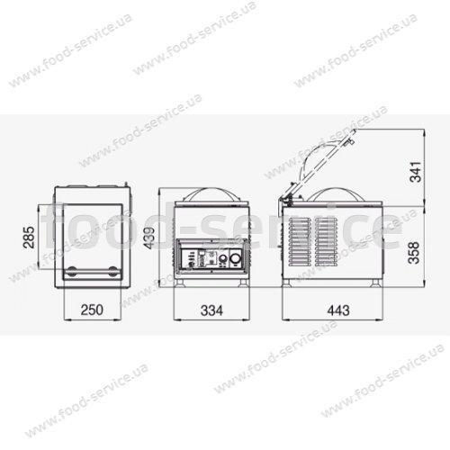 Вакуум-упаковщик Pack 250 LA MINERVA