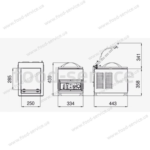 Вакуум-упаковщик Pack 460 LA MINERVA