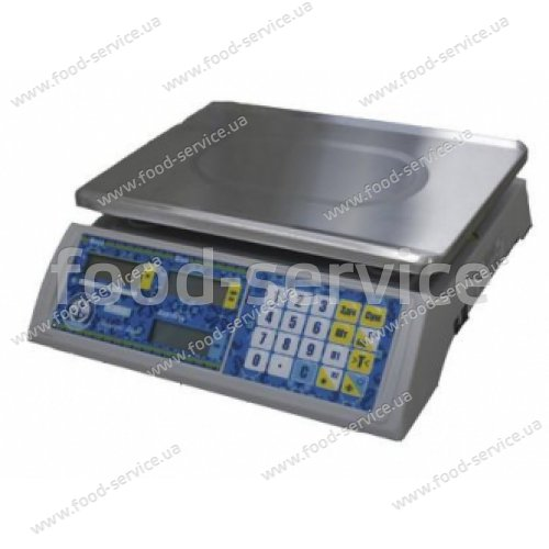 Весы торговые VP-LN-15 LCD/LED ВАГАР