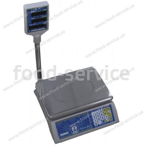 Весы торговые VP-L-15 LCD/LED ВАГАР