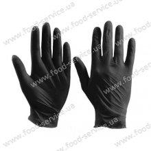 Перчатки нитриловые для HoReCa Black 100шт.