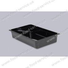 Гастроёмкость из черного поликарбоната GN 1/1-150 GastroPlast