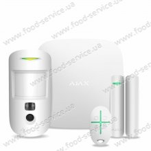 Комплект Ajax StarterKit Cam белый