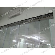 ПВХ-завеса для дверей 1000х2000(Н)мм 300х2 St