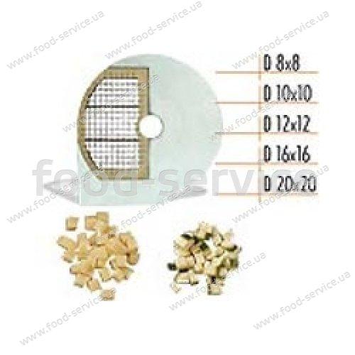 Диск для овощерезки CELME D 8x8 SX, кубик 8х8мм