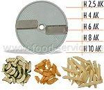 Диск для овощерезки CELME H10 AK, соломка 10 мм. картошка фри