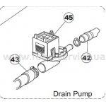 Помпа дренажная для фронтальных посудомоек Apach AF401, AF402DD