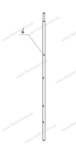 Шампур для шаурмы ШЭ-20П с приводом